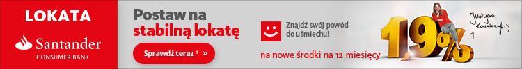 Lokata Santander Consumer Banku została nagrodzona Certyfikatem direct.money.pl