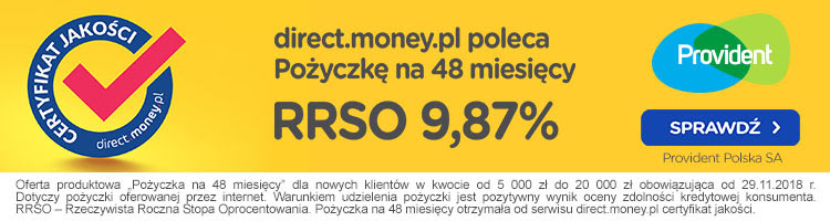 certyfikat direct money