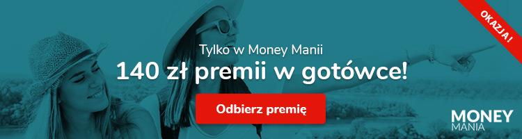 Money Mania powraca z premią 140 zł za eKonto w mBanku