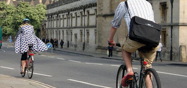 Rowery jadą do zakładających konto